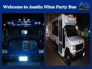 Limousine Rental Austin TX