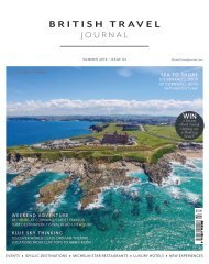 British Travel Journal | Summer 20
