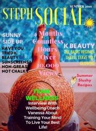 Steph Social Seasonal Editorial Summer 2019