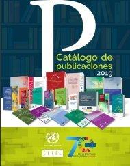 Catálogo de Publicaciones de la CEPAL 2019