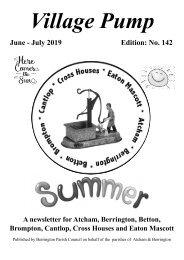 Berrington Village Pump Edition 142 Jun - Jul 2019 (Updated)