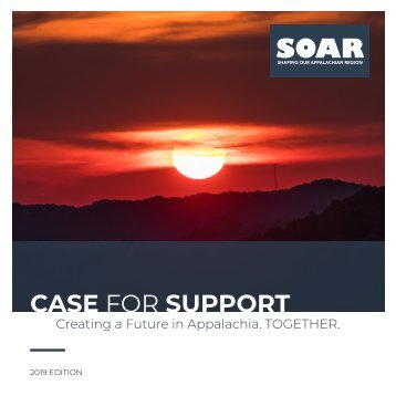 SOAR Case for Support 2019