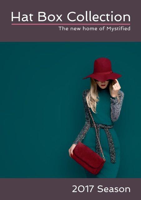Design Hat Box Brochure Spreads