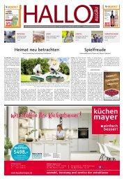 Hallo-Allgäu Kaufbeuren, Ostallgäu vom Samstag, 01.Juni