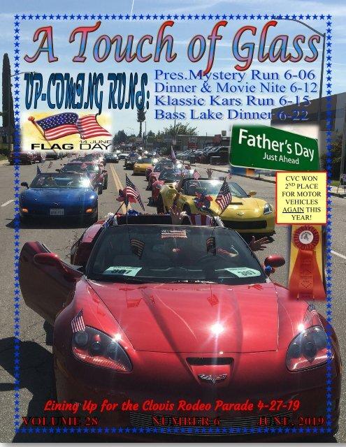 Central Valley Corvettes of Fresno - June 2019