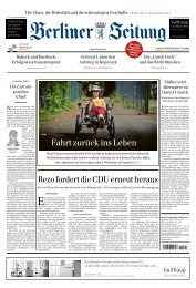 Berliner Zeitung 31.05.2019