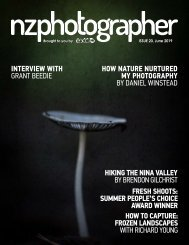 NZPhotographer Issue 20, June 2019