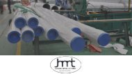 Jai hind metals - manufacturer & stockist of ss seamless pipe