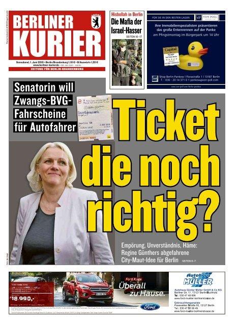 Berliner Kurier 01.06.2019