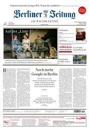 Berliner Zeitung 01.06.2019