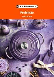 VIP Präsent - Le Creuset 2019