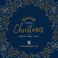 Three Salmons Hotel in Usk - Christmas Brochure 2019
