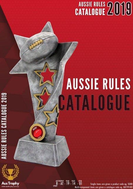 Aus Trophies Aussie Rules 2019