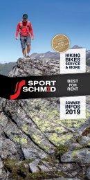 Sport Schmid – Sommerprospekt 2019