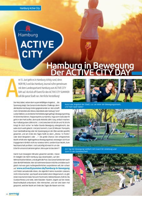 sporting hamburg JUNI 2019