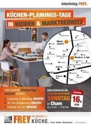 Interliving FREY - Küchen-Planungs-Tage in Weiden und Marktredwitz