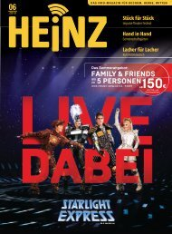 06_2019 HEINZ MAGAZIN Bochum, Herne, Witten