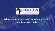 Falcon Technologies - Network Cables, Connectivity, Wire Management