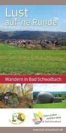 Lust auf 'ne Runde – Wandern in Bad Schwalbach