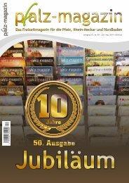 Pfalz-Magazin Sommerausgabe 10-50 Jun-Aug 2019