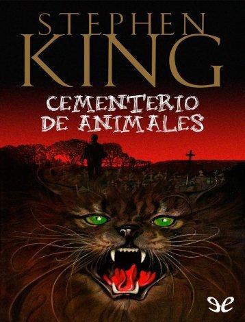 Cementerio de animales - Stephen King