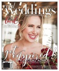 Real Weddings Magazine - Summer/Fall 2019 - The Best Wedding Vendors in Sacramento, Tahoe and throughout Northern California are all here