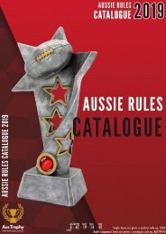 Aus Trophy - Aussies Rules 2019