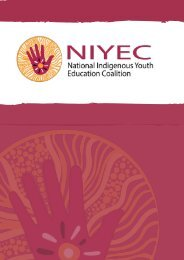 Get to know us: National Indigenous Youth Education Coalition