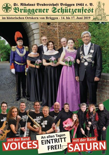 Festheft zum Schützenfest - St. Nikolaus Bruderschaft Brüggen 2019