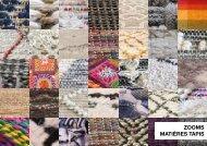 Zoom Matières Tapis Automne-Hiver 2019