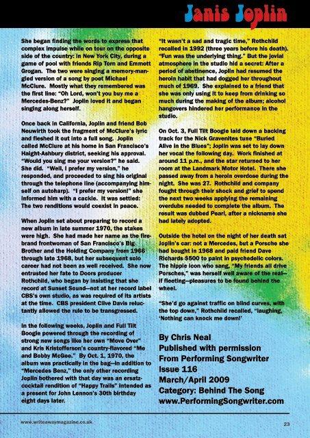 Write Away Magazine - June Issue