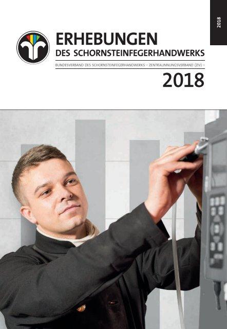 Erhebungen des Schornsteinfegerhandwerks 2018