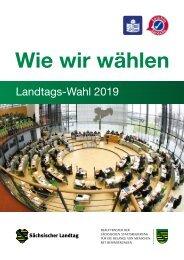 Wie wir wählen: Landtags-Wahl 2019 in Sachsen (Leichte Sprache)