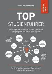 der gemeinderat_TOP Studienführer_Februar2019