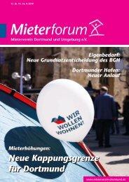 Mieterforum Dortmund - Ausgabe II/2019 (Nr. 56)