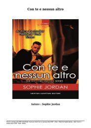 Scaricare Libri Con te e nessun altro Gratis Di Sophie Jordan