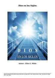 Scaricare Libri Dios en los Siglos Gratis Di Ellen G. White