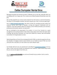 Dallas-Dumpster-Rental-Bros