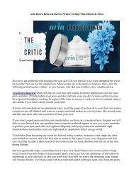 aria hydro renewal anti aging cream