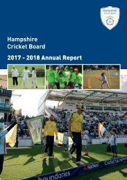 HCB Annual Report 2017 - 2018