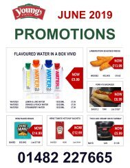 JUNE Promotions