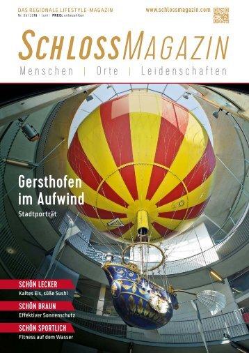 SchlossMagazin Juni 2019 Bayerisch-Schwaben und Fünfseenland