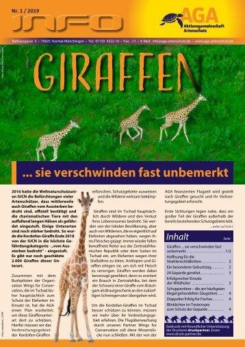Giraffen... sie verschwinden fast unbemerkt