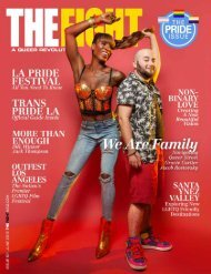 THE FIGHT SOCAL'S LGBTQ MONTHLY MAGAZINE JUNE 2019