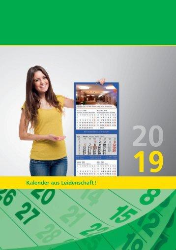 VIP Präsent - Walz Wandkalender 2019