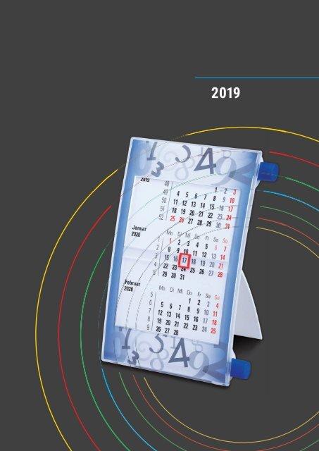 VIP Präsent - Walz Tischkalender 2019