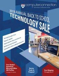 2019 Back To School Technology Sale