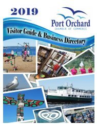 2019 Port Orchard Chamber of Commerce Visitor Guide and Business Directory
