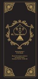 El Dorado Hude - Cocktailbar & Shisha-Lounge