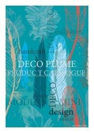 Deco plume catalog